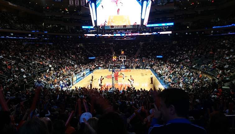 Madison Square Garden bästa sektioner och platser