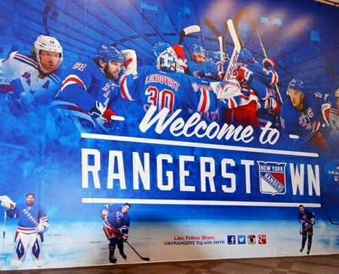 New York Rangers biljetter sektioner
